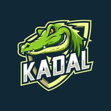 Crocodile Mascot Esport Logo