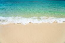 Beautiful White Beach From The Nature
