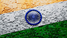 Indian Colors Tech Wallpaper