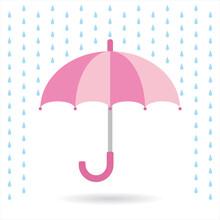 傘のイラスト Illustration Of An Umbrella
