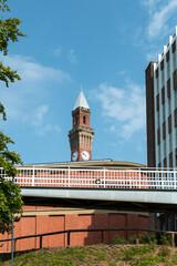 Old Joe, Joseph Chamberlain Memorial Clock Tower at the University of Birmingham, 100 meters tallest free-standing clock tower in the world.