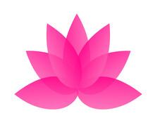 Pink Blossom Logo Icon