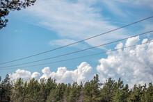 Lines In The Sky, Nacka, Sverige, Sweden, Stockholm