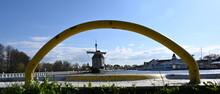 Stadthafen Ueckermünde Mit Kogge