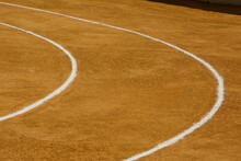 Curved Lines Of A Spanish Bullring