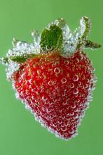 Strawberry In Soda