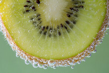 Kiwi In Soda Water