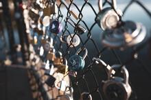 Locks On Fence