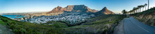 Iconic Panorama Of Table Mountain And The City Bowl - Great Outdoors Adventure Travel Destination, Cape Town, South Africa