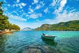 Fototapeta Fototapety z morzem do Twojej sypialni - Widok na Adriatyk w Chorwacji o poranku