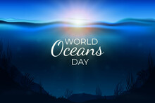 Realistic World Oceans Day Illustration_2