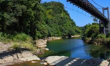 Shifen Landscape Paradise And Suspension Bridge.