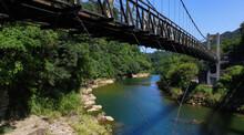 Asian Suspension Bridge, Landscape Shifen.