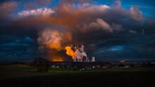 Kohlekraftwerk Turow An Der Deutschen Grenze