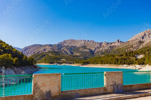 Guadalest Reservoir in Spain