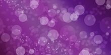 Pink Color Glitter Bokeh Glamour Lights Blur Effect Background Wallpaper Photo