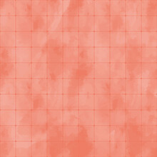 Simple Watercolor Tile Pattern. Vector Illustration That Is Easy To Resize. Seamless, Perfect For Wallpaper.