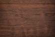 canvas print picture - brown wood texture, dark wood background. rustic table boards as wallpaper
