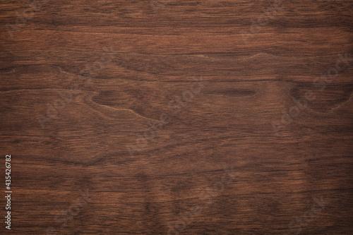 Canvas-taulu brown wood texture, dark wood background