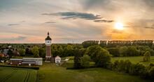 Wasserturm In Warendorf - Münsterland