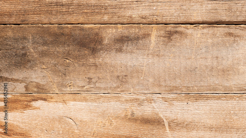 Canvas Wooden old background. old gray wooden fence, unpainted