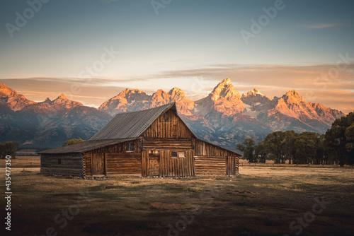 Grand Teton Fototapet