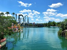 View Of River On Orlando