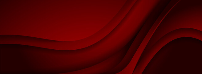 Modern 3d Dynamic Red Background with Overlap Layered Textured Style Concept.