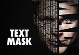 Text Overlay Mask Effect