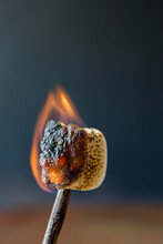Marshmallows With A Flame