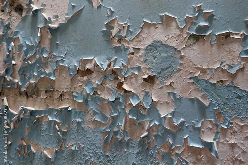 Fotografie, Obraz mur avec peinture qui s'écaille