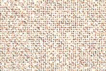 Orange, Beige Mosaic Pattern