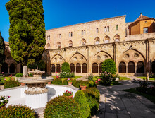 Cloister Of The Santa Tecla Cathedral, Tarragona, Catalonia