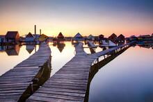 Bokod Floating Village, Oroszlany, Hungary