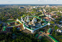 Sergiev Posad, Russia. Holy Trinity Sergius Lavra. Aerial View