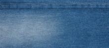 Texture Of Dark Blue Jeans Denim Fabric Textile Background