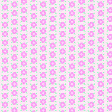 Seamless Pattern With Pink Dots