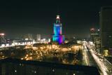 Fototapeta Londyn - Warszawa Palac Kultury i Nauki 2021