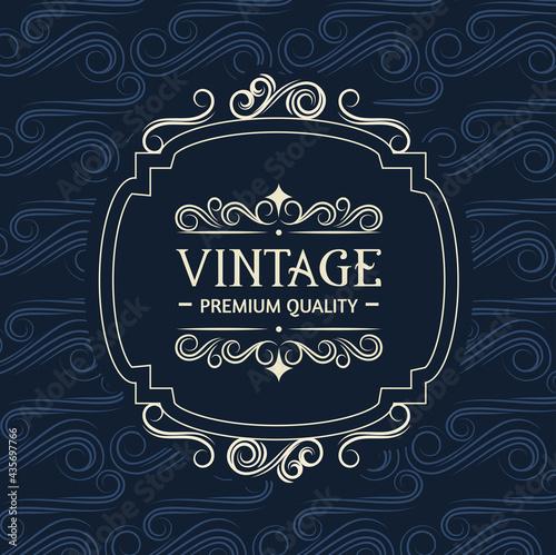 Fotografiet banner vintage style