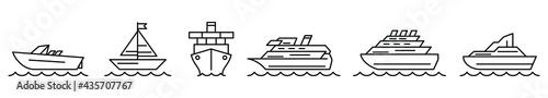 Fotografija Ship icon