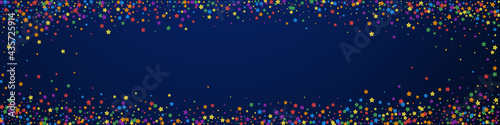Fotografía Festive resplendent confetti. Celebration stars. R