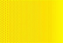 Yellow Degressive Round Gradiant