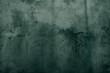 canvas print picture - Rough grunge concrete texture _ ever green cement mortar background