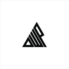 D W P Letter Logo Creative Design. DWP Icon