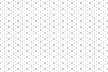 Abstract Modern Vector Geometric Seamless Pattern. Black And White Background Template.
