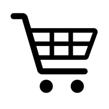 Shopping Cart Simple Isolated Icon For Apps And Websites