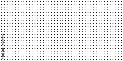 Background with black dots - vector
