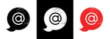 Dog Icon. Dog Symbol. Social Media Icon. Vector Illustration.