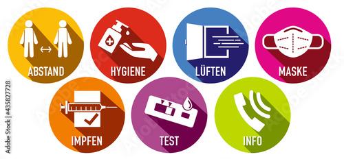 Leinwand Poster Desinfektion426052021f