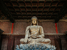 Ming Dynasty-era Buddhist Temple Of Wisdom Attained In Beijing, China